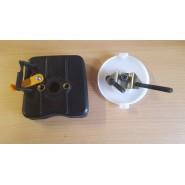 HOMELITE HBC 45 SB držák filtru a sytiče